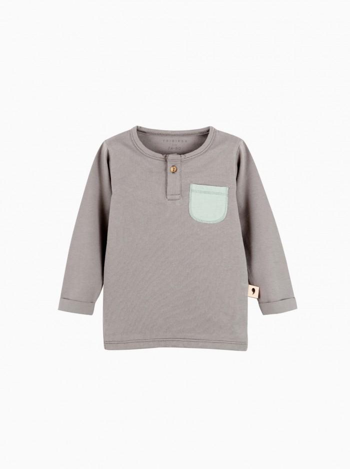 camiseta panadera · gris