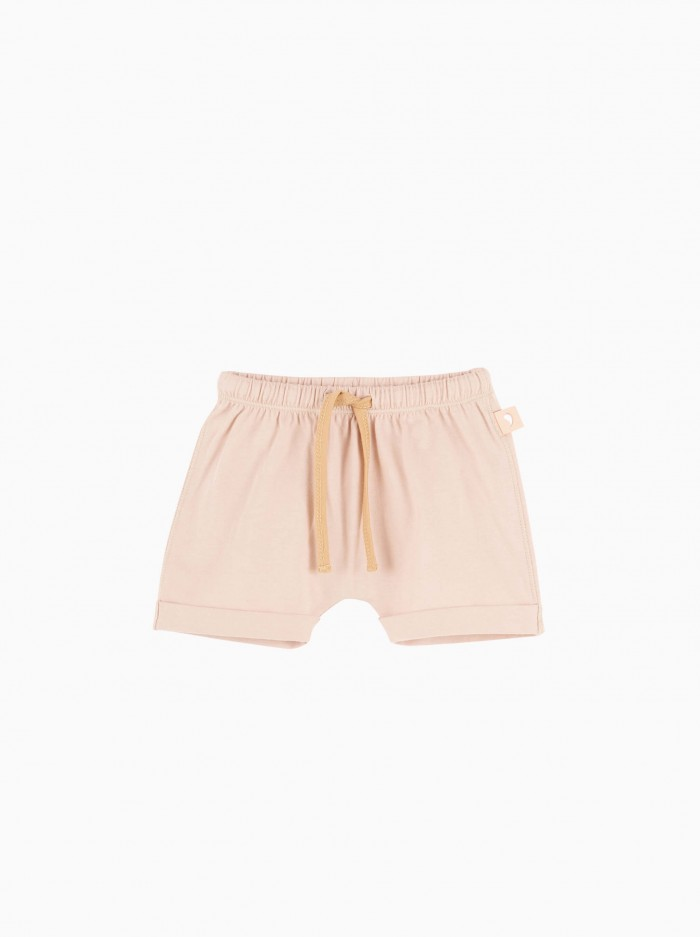 baggy shorts · misty rose