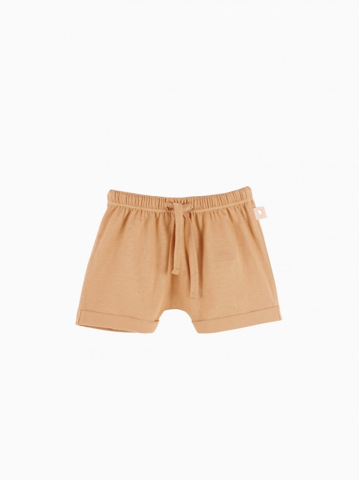 baggy shorts · terracota