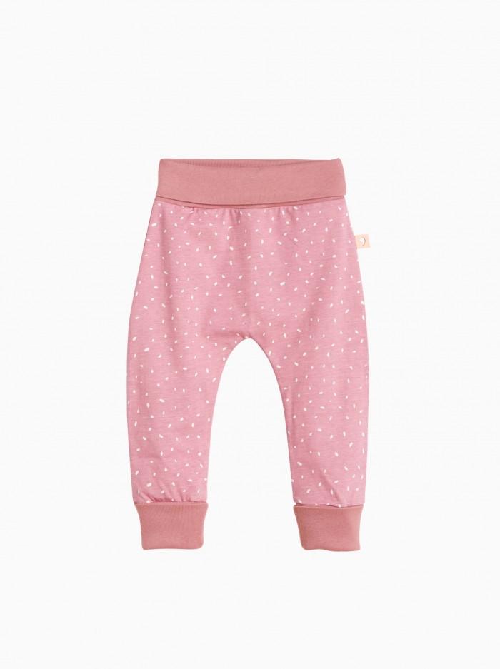 baggy pants · pink dots