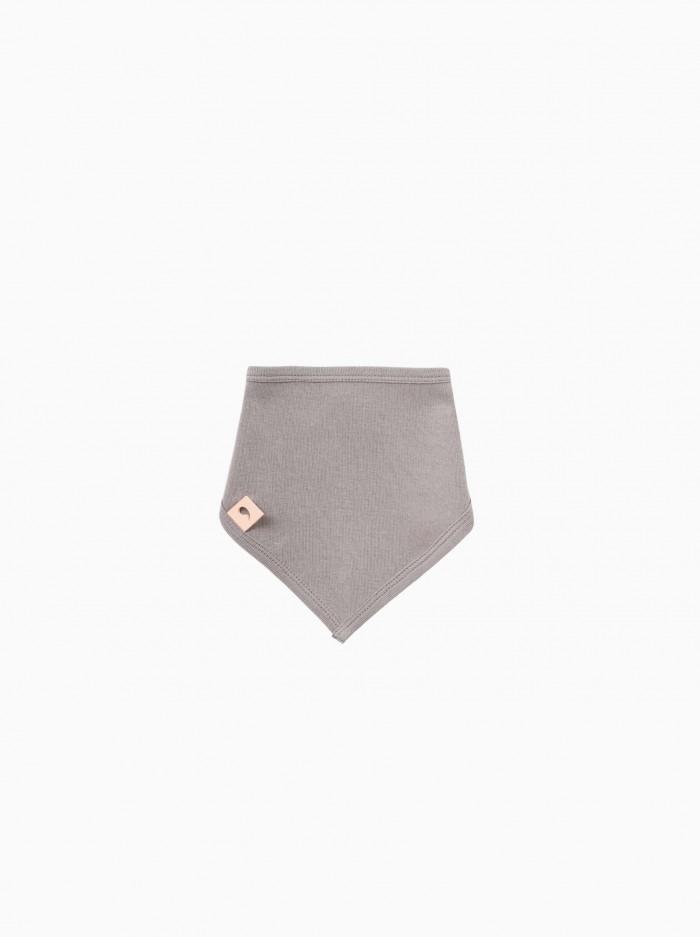 babero bandana · gris