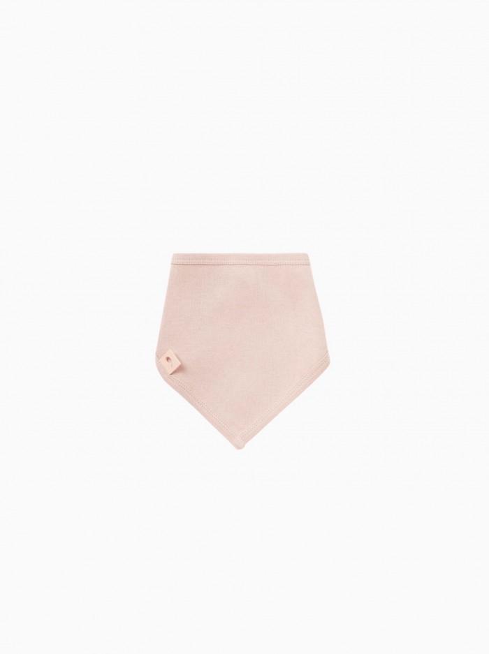 babero bandana · rosa misty