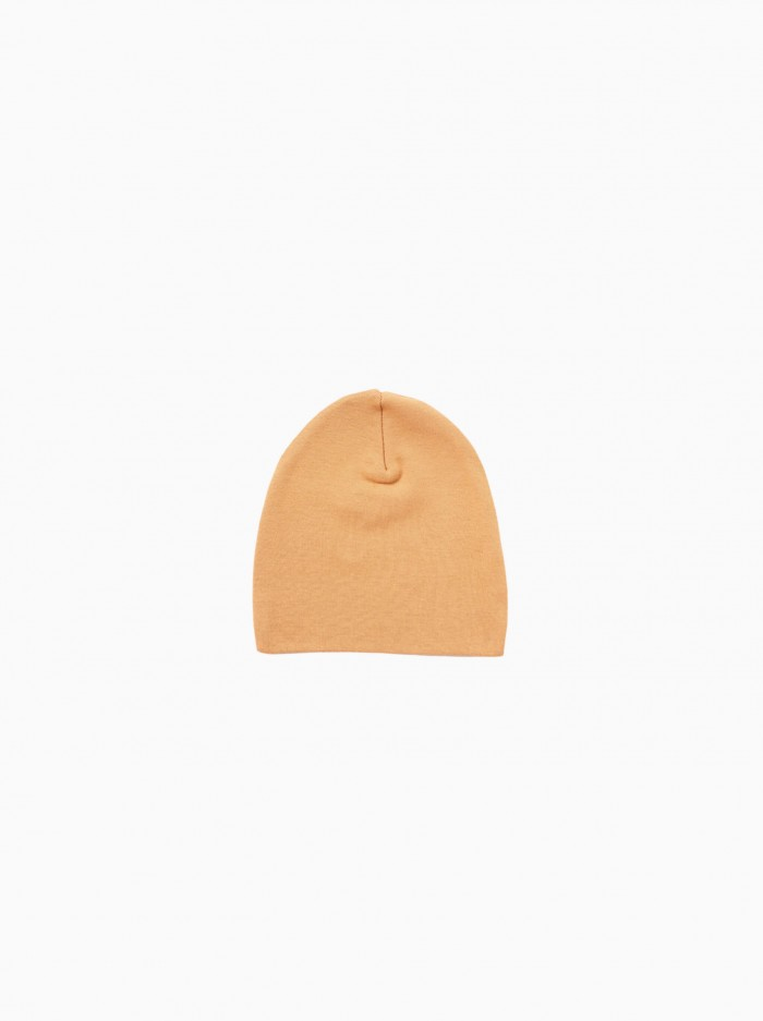newborn hat · terracotta