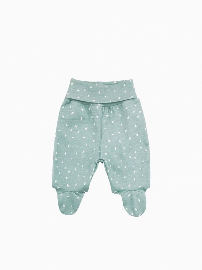 polaina bebé · dots verde menta