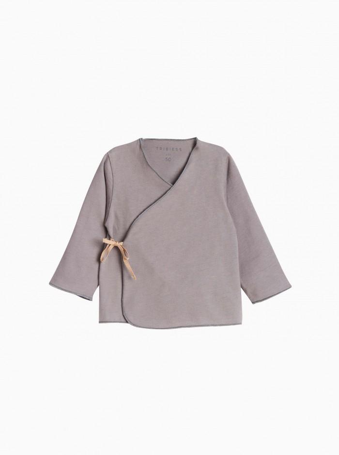 baby kimono shirt · grey